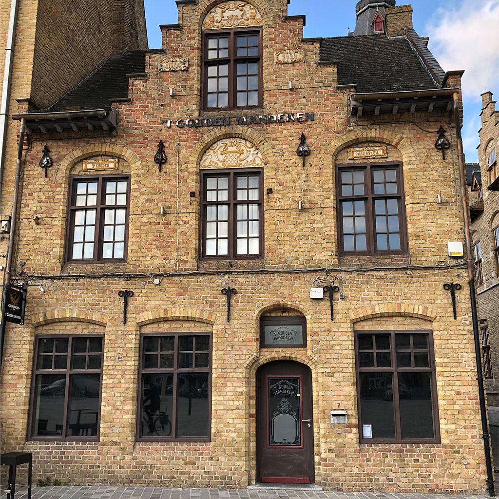 Brasserie 't Gouden Mandeken Diksmuide - interieur